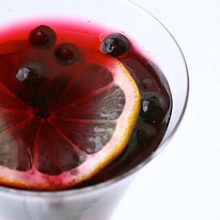 Pomegranate Blueberry Mocktail
