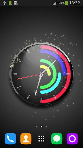 Polar Clock Live Wallpaper