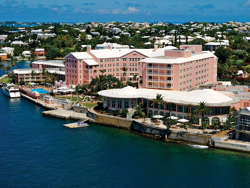Fairmont-Hamilton-Princess-Hotel-Bermuda - The Fairmont Hamilton Princess Hotel overlooks picturesque Hamilton Harbor in Pembroke Parish, Bermuda.