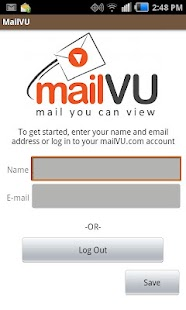 mailVU Video Sharing - screenshot thumbnail