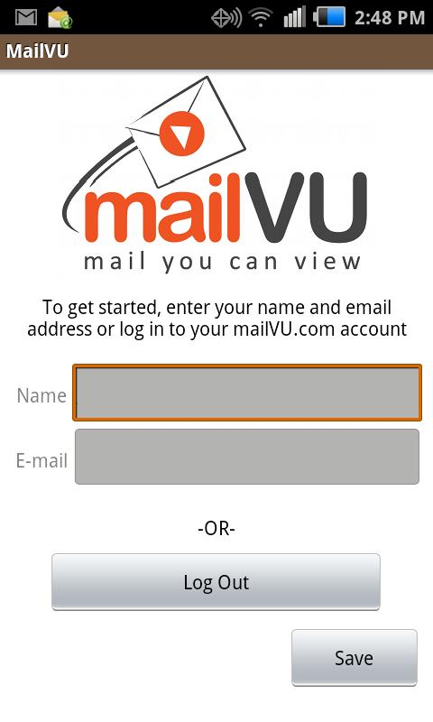 mailVU Video Sharing - screenshot