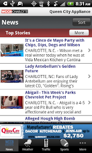 WCCB Charlotte - screenshot thumbnail