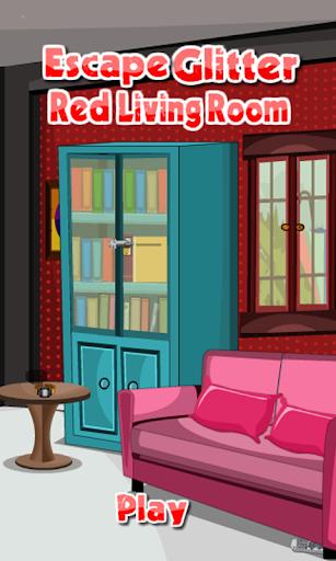 逃生金葱红客厅