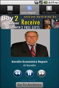 Korelin Economics Report - screenshot thumbnail
