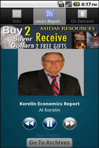 Korelin Economics Report - screenshot