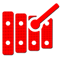 Xylophone - Record and play icon