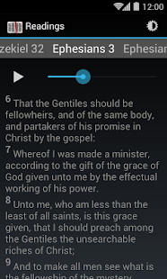 Daily Bible Reading- screenshot thumbnail
