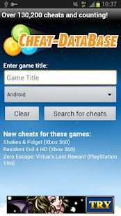Cheat-Database 1 - screenshot thumbnail