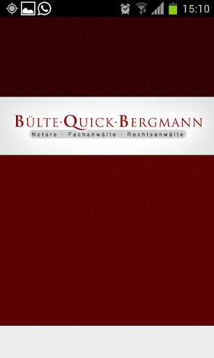Bülte - Quick - Bergmann