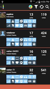 Votter: The Social Voting App- screenshot thumbnail