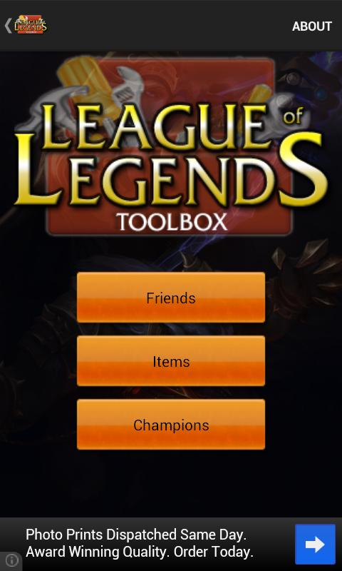 League Of Legends Toolbox - screenshot