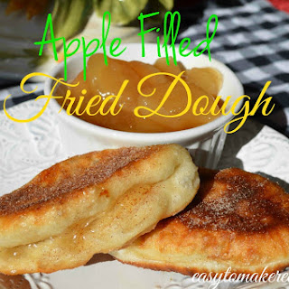 Apple Filled Fried Dough.