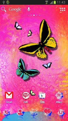 蝴蝶主題為ADW