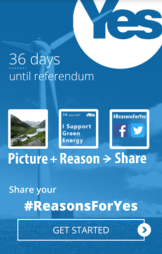 ReasonsForYes Scotland