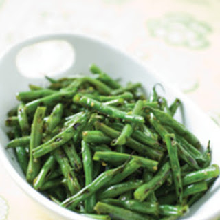 Cook's Illustrated's Sauteed Green Beans with Garlic and Herbs.