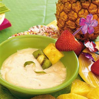 Pink Lemonade-Lime Dip
