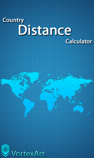 Country Distance Calculator