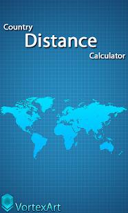 國家距離計算器