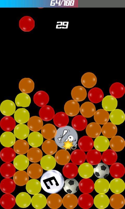 Falling Bubble2- screenshot