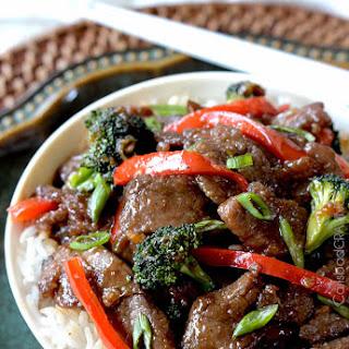 Secret Ingredient Mongolian Beef