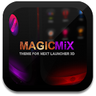MagicMixPro Theme for Next Launcher 3D icon