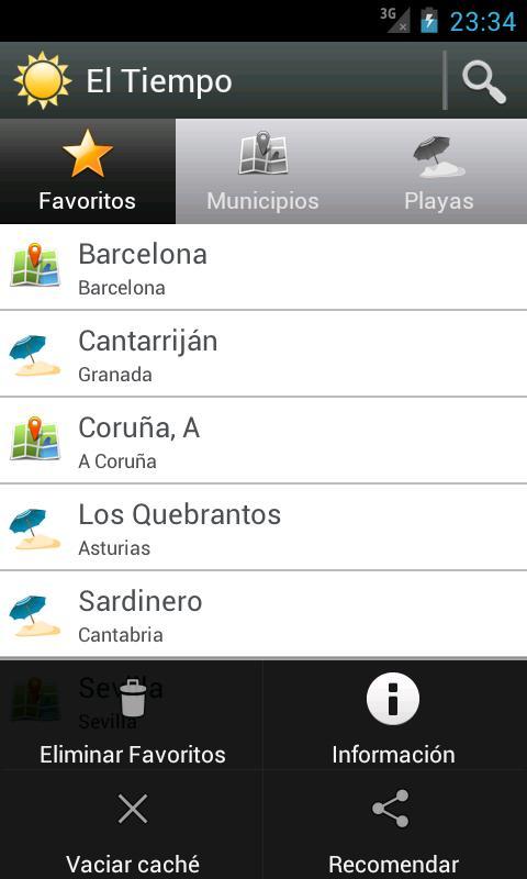 El Tiempo - screenshot