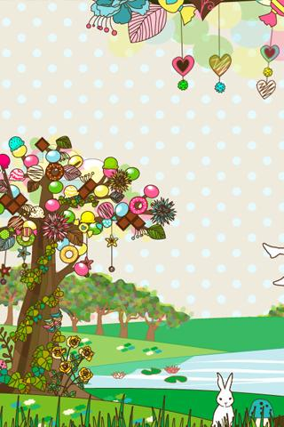 sweet tree LWallpaper[FL ver.] - screenshot