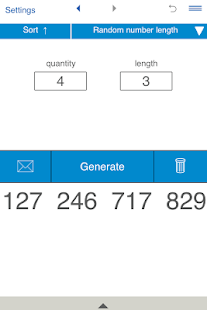 Random Number Generator- screenshot thumbnail