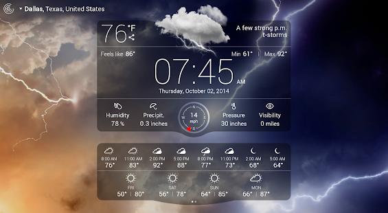 Weather Live - screenshot thumbnail