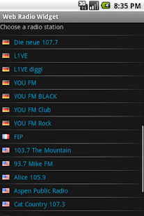 Web Radio Widget - screenshot thumbnail