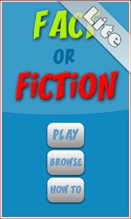 Fact or Fiction Lite- screenshot thumbnail