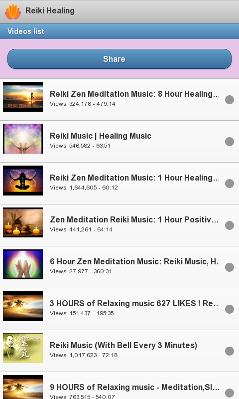 Reiki Healing- screenshot