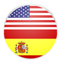 Learn English and Spanish icon