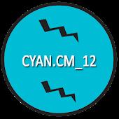 CM12/RR/LS Cyan theme