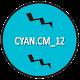 CM12/RR/LS Cyan theme v1.0