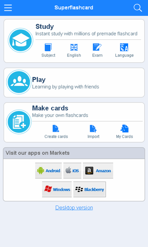 IELTS Flashcards - screenshot