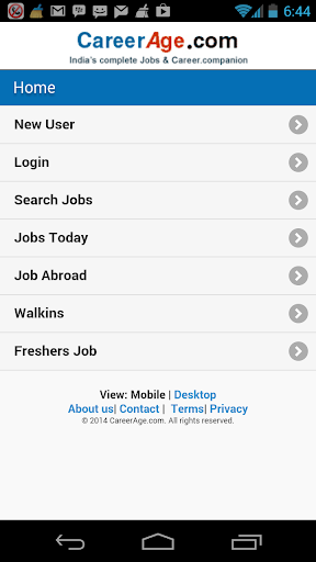 CareerAge.com Mobile