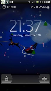 Santa Winter Christmas Eve LWP - screenshot thumbnail