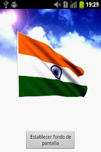 India Flag Live Wallpaper - screenshot thumbnail