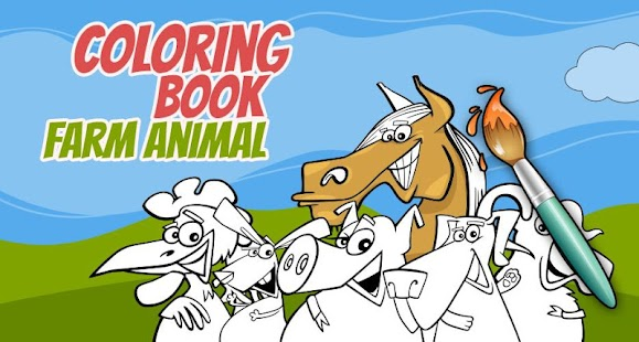 Coloring Book Farm Animals - Android Apps on Google Play