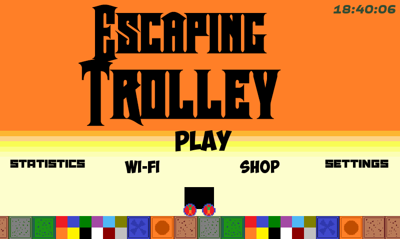 Escaping Trolley v 2.0- screenshot