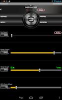 Screenshot of EVGA Precision X APP