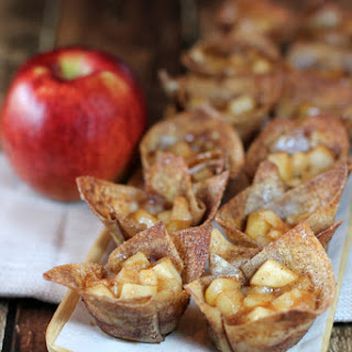 Mini Cinnamon Apple Tarts.