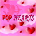 Hearts Popping Free logo