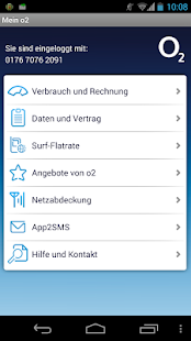 Mein o2 - screenshot thumbnail