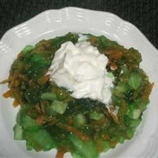 Jello Vegetable Salad Recipes.