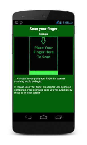 ThumbScanner AppLock