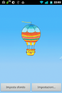 Hot Air Balloon Wallpaper Free - screenshot thumbnail