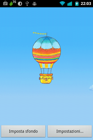 Hot Air Balloon Wallpaper Free - screenshot