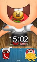 Screenshot of Fast Food theme Go Locker
